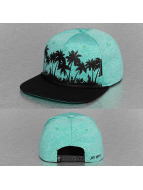 Just Rhyse Snapback Cap Palms turquoise