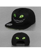 Just Rhyse snapback cap Cat zwart
