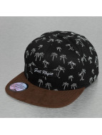 Just Rhyse snapback cap Island Mountain zwart