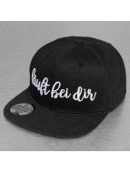 Just Rhyse snapback cap Läuft Bei Dir zwart