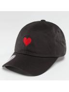 Just Rhyse snapback cap Heart zwart