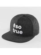 Just Rhyse Snapback Caps Being True harmaa