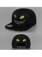 Just Rhyse Snapback Caps Cat musta