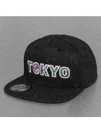 Just Rhyse Snapback Caps Tokyo musta