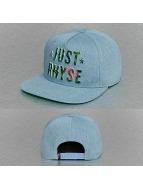 Just Rhyse Snapback Caps Plant Logo sininen