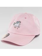 Just Rhyse Snapback Caps Unicorn vaaleanpunainen