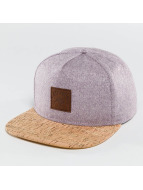 Just Rhyse Snapback Wood Rhyser pourpre
