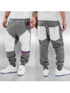 Just Rhyse Pio Sweat Pants Grey/White
