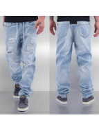 Just Rhyse Straight Fit Jeans Drawstring blau
