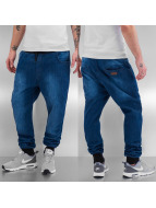 Just Rhyse Straight fit jeans Jogger blauw