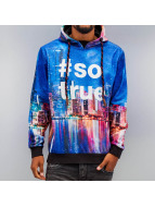 Just Rhyse Sweat à capuche Skyline multicolore
