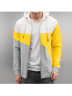 Just Rhyse Sweat à capuche zippé Rusher jaune
