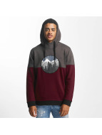 Just Rhyse Sweat capuche Mountain rouge