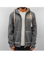 Just Rhyse Sweat capuche zippé Big gris