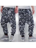 Just Rhyse Sweat Pant Galaxy Stripes black