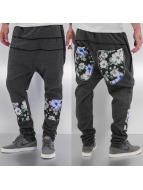 Just Rhyse Sweat Pant Flower black
