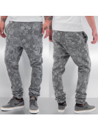 Just Rhyse Sweat Pant Flower gray