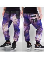 Just Rhyse Sweat Pant Galaxy 78 purple