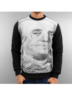 Just Rhyse Swetry *B-Ware* Franklin Sweatshirt Black czarny