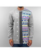 Just Rhyse Aztecs Sweatshirt Grey