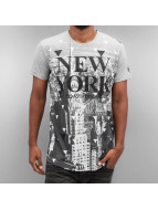 Just Rhyse T-paidat New York harmaa
