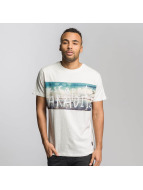Just Rhyse T-Shirt Long Beach blanc