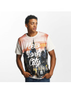 Just Rhyse T-Shirt New York City blanc