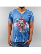 Just Rhyse T-Shirt Day Of The Dead blau