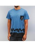 Just Rhyse T-Shirt Silhouette blau