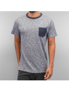 Just Rhyse T-Shirt Breast Pocket blau