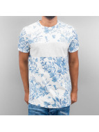 Just Rhyse t-shirt Flower blauw