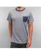 Just Rhyse t-shirt Breast Pocket blauw