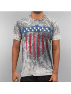 Just Rhyse T-Shirt Stars grau