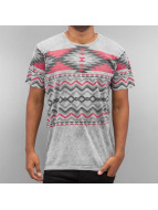 Just Rhyse T-Shirt Pattern II grau