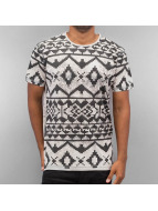 Just Rhyse T-Shirt Pattern grey