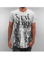 Just Rhyse t-shirt New York grijs