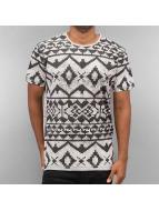 Just Rhyse t-shirt Pattern grijs