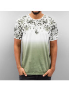 Just Rhyse T-Shirt Roses grün