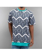 Just Rhyse T-shirt long oversize Cactus bleu