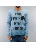 Just Rhyse T-Shirt manches longues Paris bleu