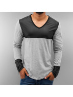 Just Rhyse T-Shirt manches longues PU gris