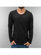 Just Rhyse T-Shirt manches longues Mesh noir