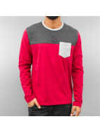 Just Rhyse T-Shirt manches longues 3 Tone rouge