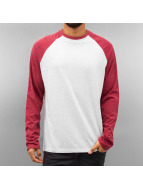 Just Rhyse T-Shirt manches longues Raglan rouge