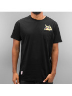 Just Rhyse T-Shirt Pocketfriend noir