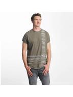 Just Rhyse t-shirt Morro Bay olijfgroen