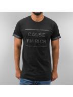 Just Rhyse T-Shirt Cause I´m Rich schwarz