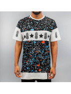 Just Rhyse T-Shirt Dots schwarz