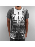 Just Rhyse T-Shirt Chicago schwarz