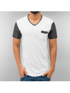 Just Rhyse T-Shirt PU Sleeve white